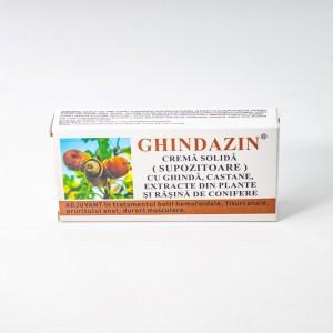 Ghindazin Supozitoare, 10x1,5g, Elzin Plant