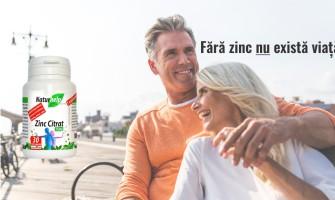 Lipsa  zincului duce la pierderea gustului și mirosului