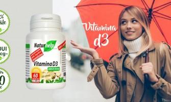 Vitamina D3,  poate reduce riscul de contaminare cu, covid 19 cu 54%