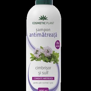 Șampon antimătreață cu cimbrișor și sulf, 400 ml, Cosmetic Plant