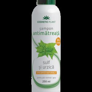 Şampon antimătreaţă cu sulf şi urzică, 250 ml, Cosmetic Plant
