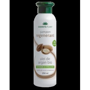Șampon regenerant cu ulei de argan bio, 250 ml, Cosmetic Plant