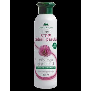 Șampon STOP! căderii părului cu trifoi roşu şi pantenol, 250 ml, Cosmetic Plant