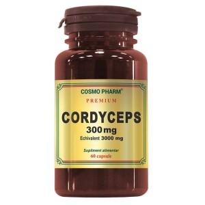 Cordyceps, 300mg, 60 capsule, Cosmopharm