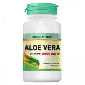 Aloe Vera 30 Capsule Gelatinoase Moi, Cosmopharm