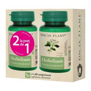 Herbotensin 60 comprimate, 1+1 gratis, Dacia Plant