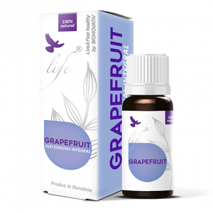 Ulei esential Grapefruit 10ml, DVR Pharm