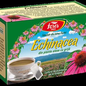 Ceai Echinacea, 20 plicuri Fares