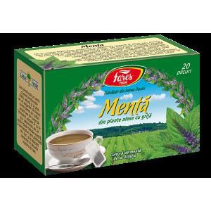 Ceai Menta, 20 plicuri Fares