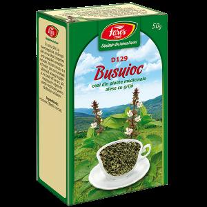 Ceai Busuioc, iarba, D129, vrac 50 g Fares