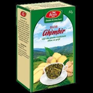 Ceai Ghimbir, radacina, D135, vrac 50 g Fares