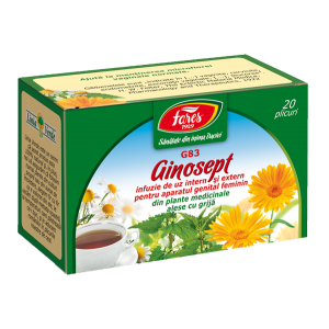 Ceai Ginosept, G83, 20 plicuri Fares