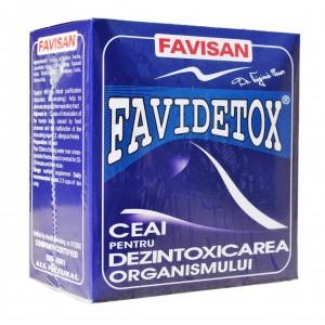 FaviDetox Ceai 50g, Favisan
