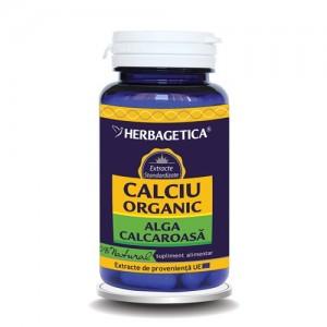 Calciu organic 60 capsule, Herbagetica