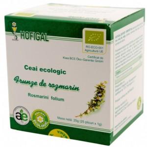 Ceai Ecologic, frunze de rozmarin, 25 plicuri, Hofigal