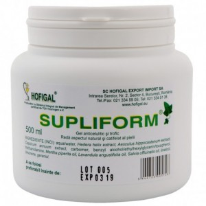 Supliform gel, 500 ml, Hofigal