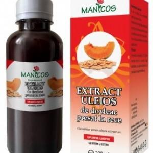 Extract uleios de dovleac 200ml, Manicos
