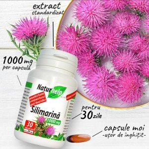 SILIMARINA 1000MG 30 CAPSULE MOI +30 PROMO NATURHELP