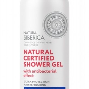 NS GEL DE DUS ANTIBACTERIAN 400ML NS458 NATURA SIBERICA