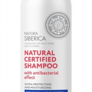 NS SAMPON ANTIBACTERIAN 400ML NS441 NATURA SIBERICA