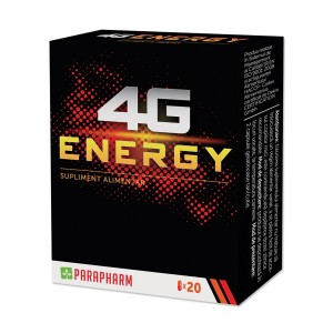 4G Energy, 20 capsule, Parapharm