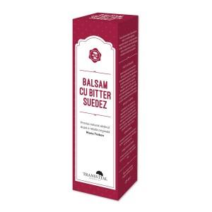 Balsam cu bitter suedez, 125 ml, Transvital