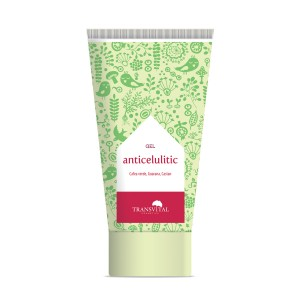 Gel Anticelulitic, 150 ml, Transvital