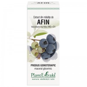 Extract din mlădiţe de AFIN - Vaccinium myrtillus MG=D1, 50 ml, PlantExtrakt