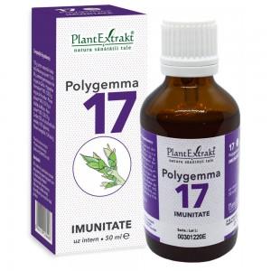 Polygemma 17 - Imunitate, 50 ml, PlantExtrakt