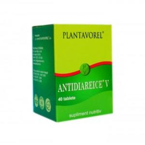 Antidiareice V, 40 tablete, Plantavorel