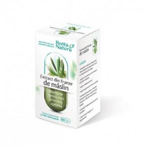 Extract din frunze de Măslin, 60 capsule, Rotta Natura