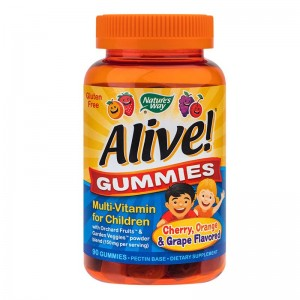 ALIVE-GUMMIES MULTIVITAMIN FOR CHILDREN 90 JELEURI, SECOM