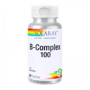 B COMPLEX 100 MG, 50 CPS, SECOM