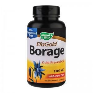 BORAGE EFAGOLD 1300 MG, 60 CPS, SECOM
