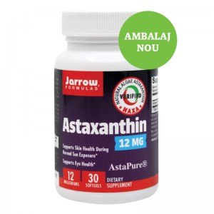 ASTAXANTHIN 12 MG, 30 CPS, SECOM