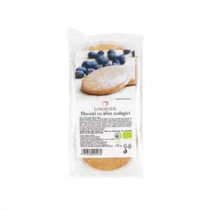 Biscuiți cremă Afine Bio 175g Longevita, Solaris Plant