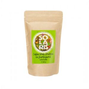 Cafea Verde Arabica cu Scortisoara macinata 260g, Solaris Plant