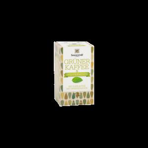 Cafea Verde & Menta - PROMO 18dz Eco, Sonnentor