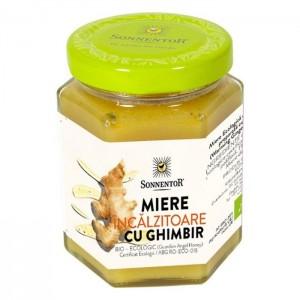 Miere Ghimbir Incalzitor Eco 230 g, Sonnentor
