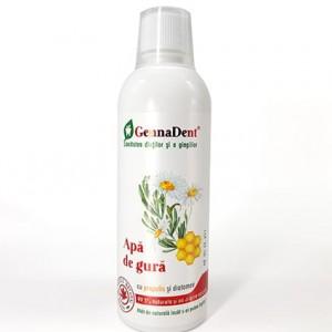 Apă de gură cu propolis și diatomee GennaDent, 500ml, Vivanatura