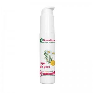 Apă de gură cu propolis și diatomee GennaDent, 45ml, Vivanatura