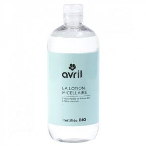 Apa micelara BIO cu ALBASTRELE+ ALOE VERA, 500 ml, Avril