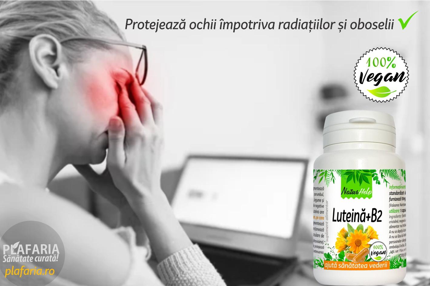 supliment alimentar pentru vederea cataractei